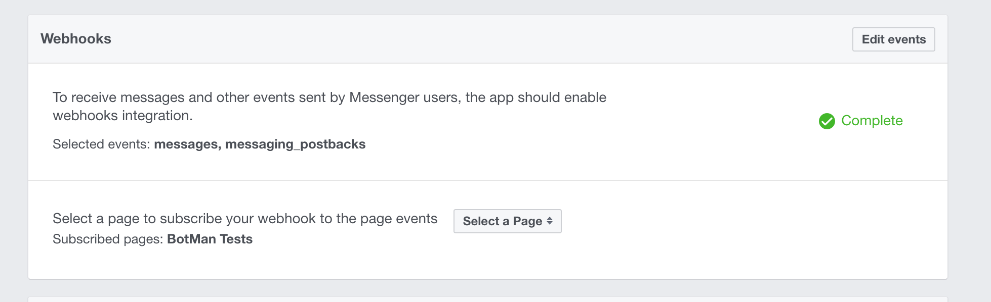 Screenshot showing how to subscribe to a Facebook page